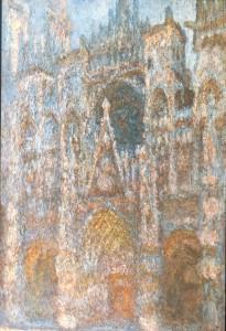 Cat de Rouen luz matinal harmonie bleue II