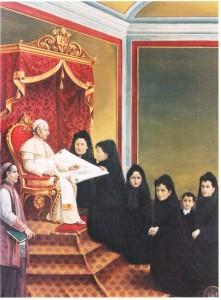 zMercedes Castellanos de Anchorena ante Pío XI