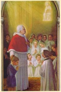 San Pio X imaginario