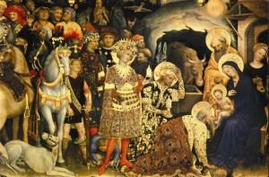 Anbetung der Könige G Da Fabriano