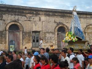 Carlos Federico Ortiz procesión NS de Itatí