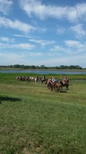 peregrinos a caballo otra