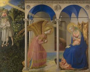 Anunciación del Angel