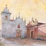 Convento San Bernardo en luz dorada