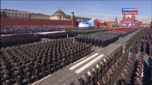 a militärparade in russld