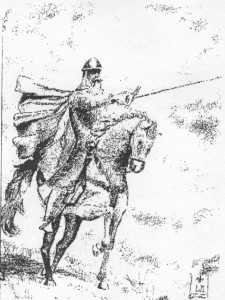 El Cid dibujo fotogr b y ng