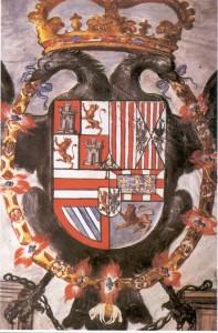 Escudo de inca con el águila bicéfala