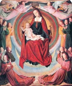 Virgen del Maitre des Moulins