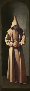 St Francis by Zurbaran