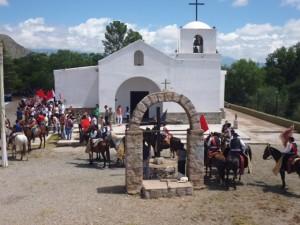 Paseo Alferez F 095 El eje Iglesia Cruz Histórica frente al Cementerio Alto del Carmen BUENA