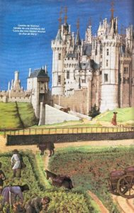 EM Castillo Saumur y labriegos