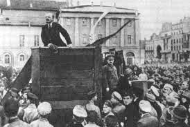 Lenin barricade