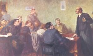 Lenin y secuaces